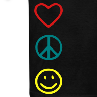 Design ~ Love Peace Happines shirt
