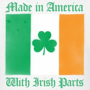 American With Irish Parts - Men's T-Shirt