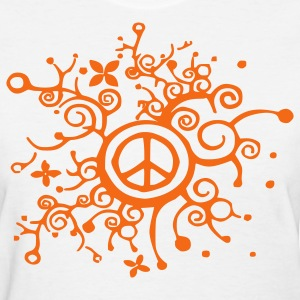curly_peace Women's T-Shirts - Women's T-Shirt