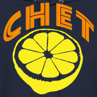 Design ~ Chet Men's Hooded Sweatshirt