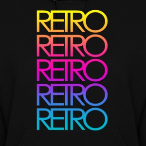 Colorful Retro - Women's Hoodie