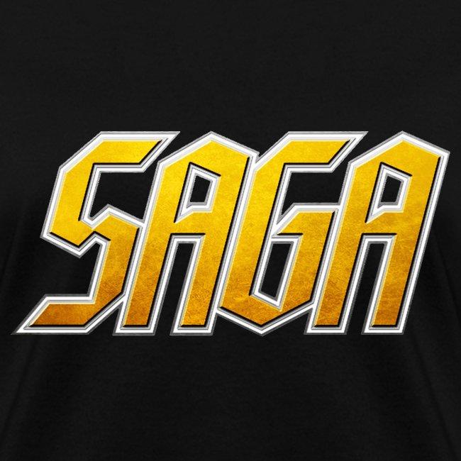 SAGA Ladies Logo T