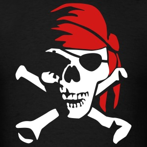 pirate_bones_022011_c_2c T-Shirts - Men's T-Shirt