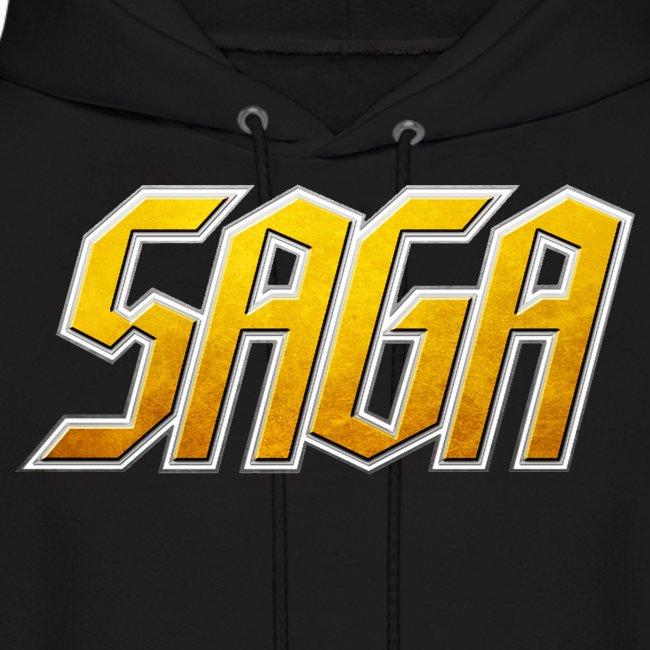Saga Men's Logo Hoodie
