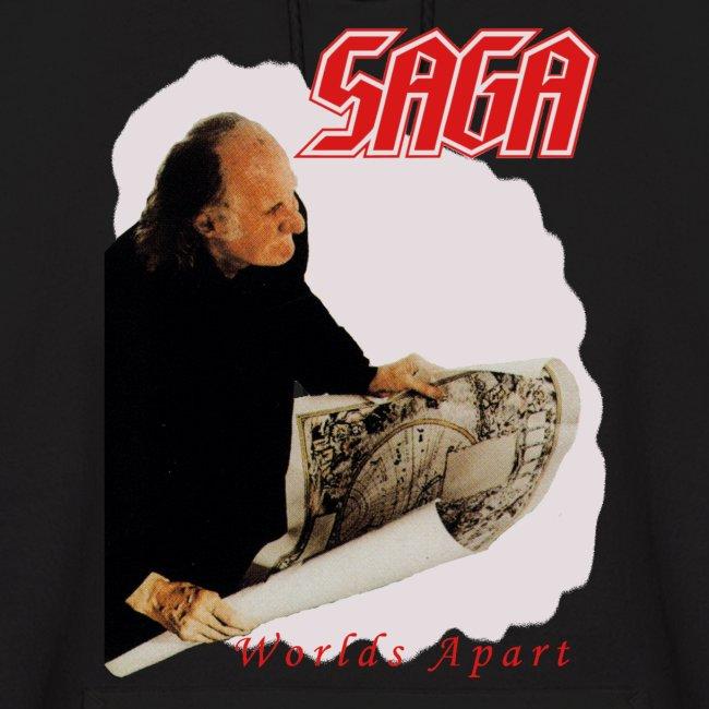 Saga Worlds Apart retro Hoodie
