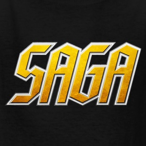 Saga Childs  Logo shirt - Kids' T-Shirt