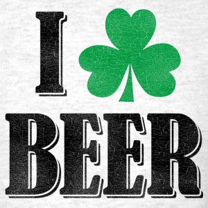 I Shamrock Beer - Men's T-Shirt
