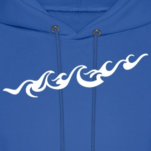 'Waves' Men's Hooded Sweatshirt - Men's Hoodie