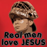 Design ~ Real men love Jesus (Flores).