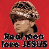 Design ~ Real men love Jesus (Flores).