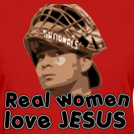 Design ~ Real women love Jesus (Flores).