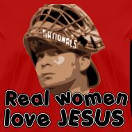 Design ~ Real women love Jesus (Flores).