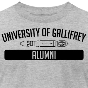 Gallifrey University Alumni - Men's T-Shirt by American Apparel
