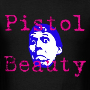 Pistol Beauty Face shirt - Men's T-Shirt