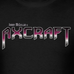 Axcraft Logo - Men's T-Shirt