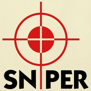 Sniper (2c) Bags  - Eco-Friendly Cotton Tote