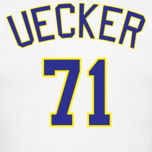 Milwaukee Brewers #71 Bob Uecker - Men's T-Shirt