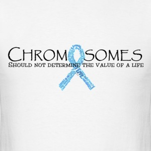 trisomy awareness names shirt T-Shirts - Men's T-Shirt