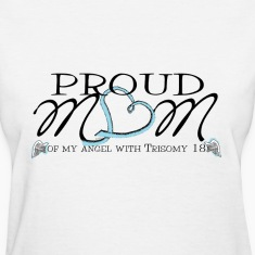 trisomy awareness names shirt Women's T-Shirts
