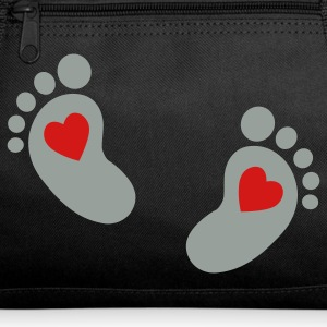 baby feet heart Athletic Wear - Duffel Bag