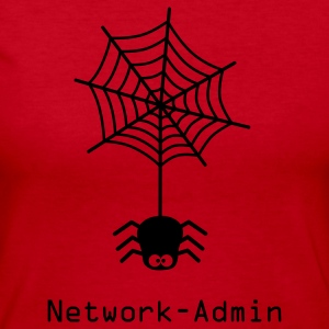 network admin administrator spider net www world wide web pc computer laptop Long Sleeve Shirts - Women's Long Sleeve Jersey T-Shirt