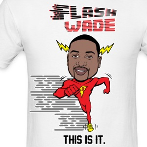 Flash Wade - Men's T-Shirt