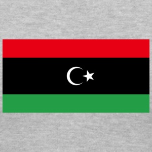 Kingdom of Libya Flag (1951-1969) - Women's V-Neck T-Shirt