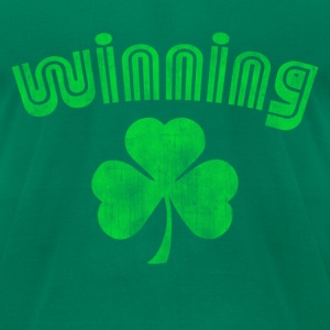 Lucky Winning T-Shirts - Men's T-Shirt by American Apparel