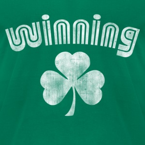 Winning Luck T-Shirts - Men's T-Shirt by American Apparel