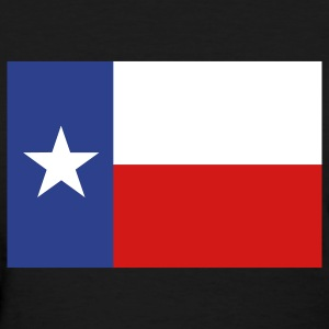 Lone Star Texas Flag Women's T-Shirts - Women's T-Shirt
