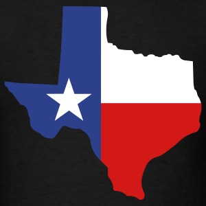 State of Texas T-Shirts - Men's T-Shirt