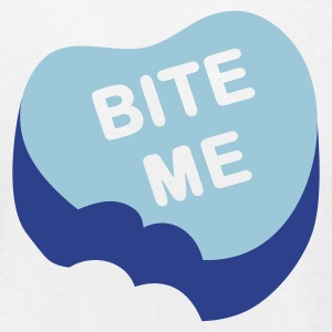 Bite Me - Men's T-Shirt by American Apparel