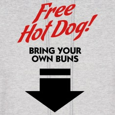 Free Hot Dog (2c) Hoodies
