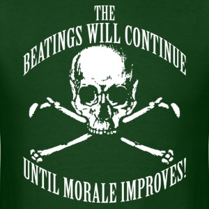 (dark shirts)-The Beatings-(Custom Text)-MSW - Men's T-Shirt