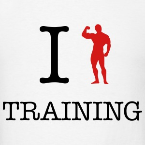 Arnold workout training t-shirts - Men's T-Shirt