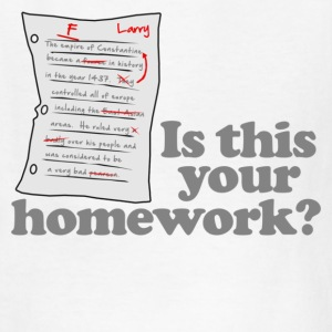 This Your Homework Kids' Shirts - Kids' T-Shirt