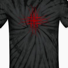 """The Red"" Fractal Geometry Art T-Shirts"