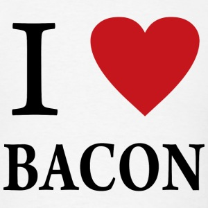 I Love Bacon - Men's T-Shirt