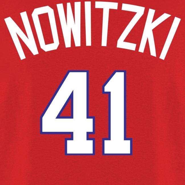 Texas Rangers #41 Dirk Nowitzki