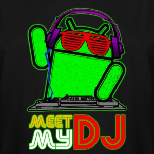 Android DJ Men - Men's Tall T-Shirt