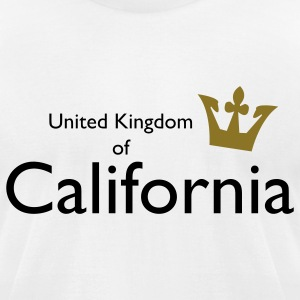 United Kingdom of California T-Shirts - Men's T-Shirt by American Apparel
