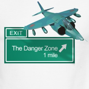 Highway Danger Zone T-Shirts - Men's Ringer T-Shirt