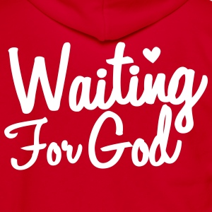 waiting for god Zip Hoodies/Jackets - Unisex Fleece Zip Hoodie by American Apparel
