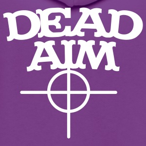 dead aim Zip Hoodies/Jackets - Unisex Fleece Zip Hoodie by American Apparel