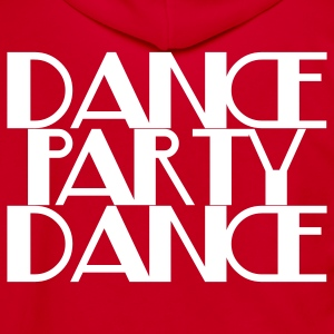 dance party dance Zip Hoodies/Jackets - Unisex Fleece Zip Hoodie by American Apparel