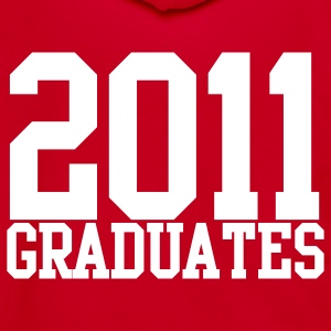 2011 graduates Zip Hoodies/Jackets - Unisex Fleece Zip Hoodie by American Apparel