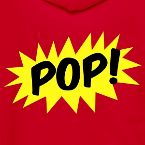 pop! on a star comic Zip Hoodies/Jackets - Unisex Fleece Zip Hoodie by American Apparel