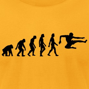 Evolution Karate (1c) T-Shirts - Men's T-Shirt by American Apparel
