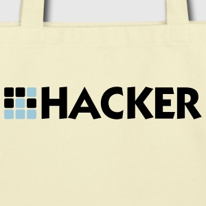 Hacker (2c) Bags  - Eco-Friendly Cotton Tote