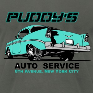 Puddy Auto Service T-Shirts - Men's T-Shirt by American Apparel